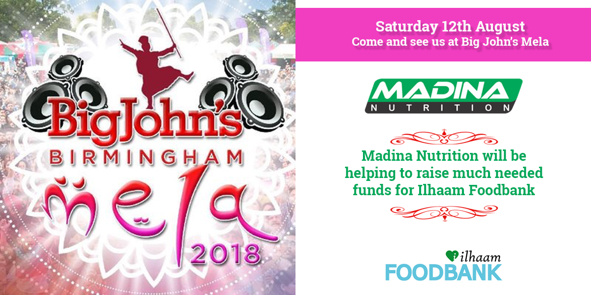 Ilaam Foodbank at Birmingham Mela 2018