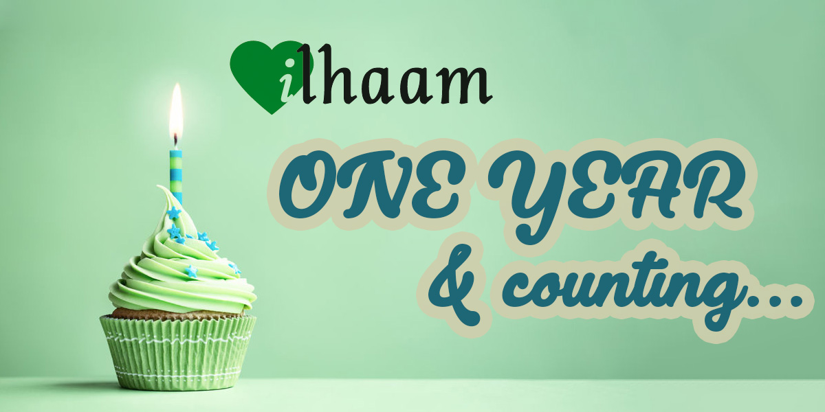 Ilhaam - one year and counting