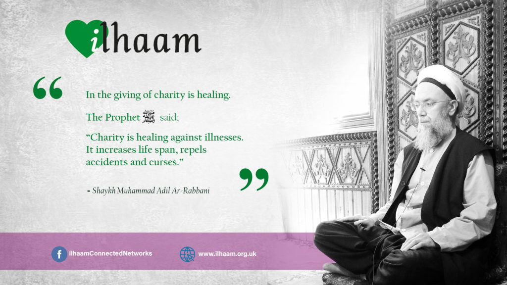 Ilhaam - charity is healing